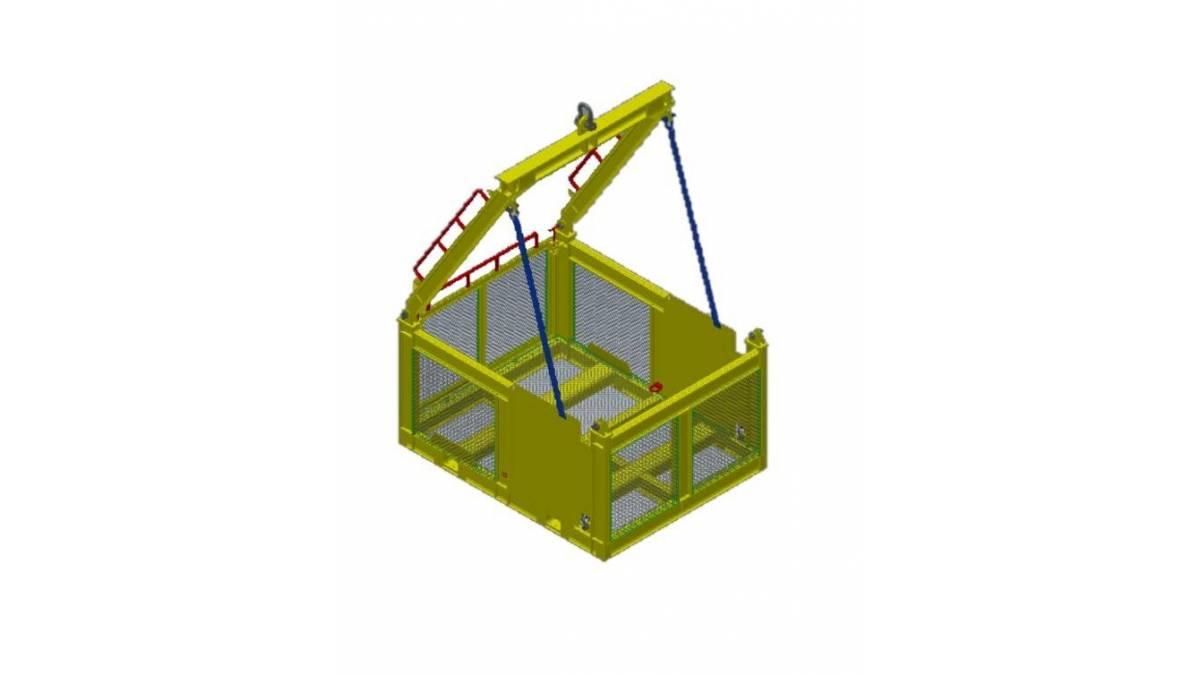 Subsea basket